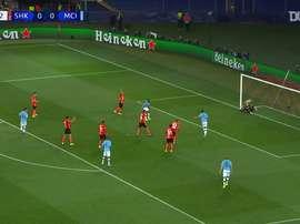 Les premiers buts Manchester City en 2019-20 en Ligue des champions. DUGOUT