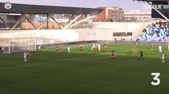 Manchester City Women score 10 against Ipswich Town in FA Cup fifth round. DUGOUT