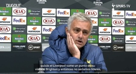 Mourinho habló del partido ante el Chelsea. Captura/DUGOUT
