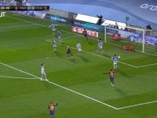 Frenkie de Jong's super header vs Real Sociedad. DUGOUT
