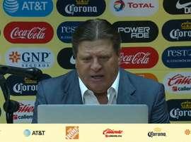 Herrera valoró la victoria frente a Chivas. DUGOUT