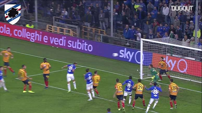 Sampdoria and Lecce shared the points in their first game. DUGOUT