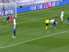 La passe décisive incroyable de Barella contre le Real Madrid. dugout