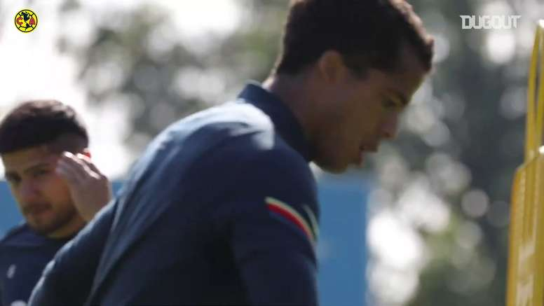 Ochoa returns to training. DUGOUT