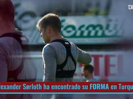 Espectacular rendimiento de Sorloth en Turquía. DUGOUT