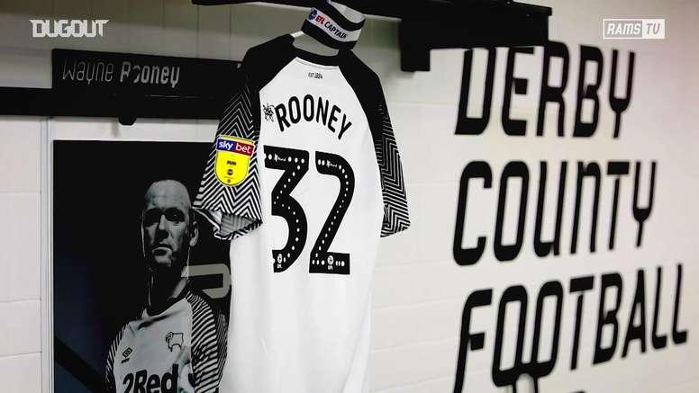 Rooney e sua 1ª temporada no Derby County. DUGOUT