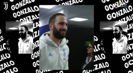 Gonzalo Higuain has had a good season in Turin so far. DUGOUT