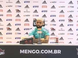 Gabigol nega panela no Flamengo. DUGOUT