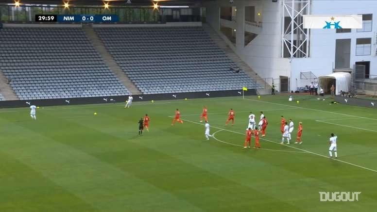 Marseille beat Nimes 1-0. DUGOUT