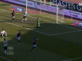 La bella vittoria del Bologna sul Cagliari. Dugout