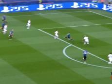PSG teve um duro duelo contra a Atalanta. DUGOUT