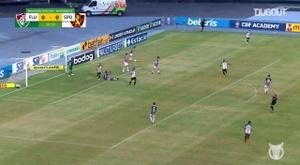 Fluminense beat Sport Recife in the Brasileirao. DUGOUT