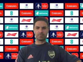 Arteta spoke to the media before the match. DUGOUT