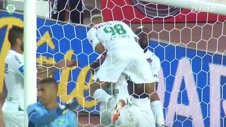 Ben Malango scored for Raja Casablanca on the opening weekend of the season. DUGOUT
