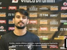 Ricardo Graça diz que está perto de renovar com o Vasco. DUGOUT