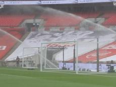 Así se vivió por dentro el Arsenal-City de la FA Cup del 2019-20. Dugout