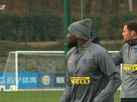 L'Inter si prepara al Gladbach. Dugout