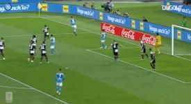 Confira como foi o título do Napoli sobre a Juventus. DUGOUT