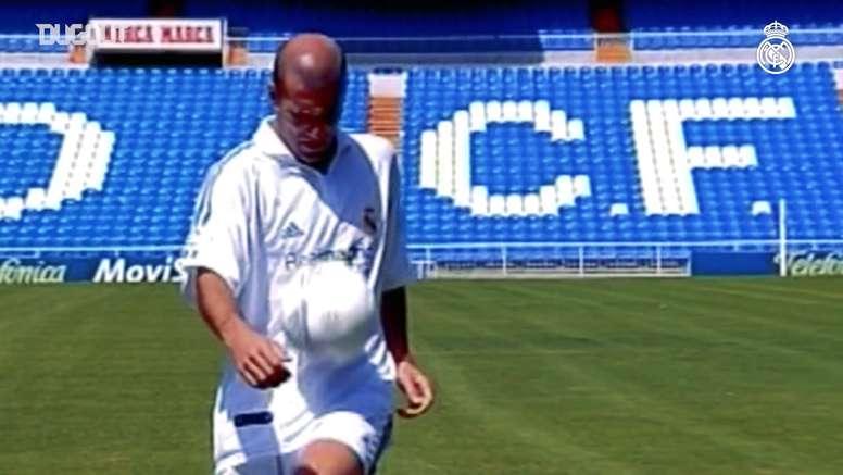 Zidane's best Real Madrid goals. DUGOUT