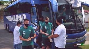 Bastidores da visita da Chapecoense ao Vitória na Série B. DUGOUT