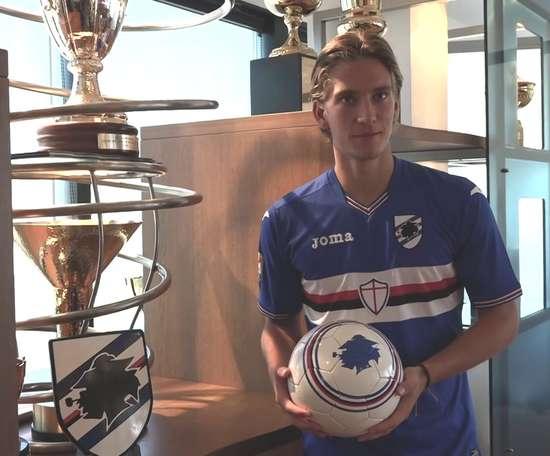 Il meglio di Praet con la Sampdoria. Dugout