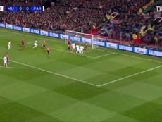 Di María brilha com duas assistências pelo PSG contra o Man United. DUGOUT