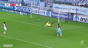 Nishi got a superb assist in Daegu's 6-0 win over Seoul. DUGOUT