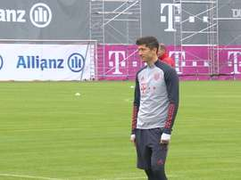 El Bayern ya se prepara para la Champions. DUGOUT