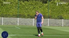 VIDÉO : Kane défie Lloris lors du retour à l'entraînement. Dugout