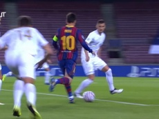 Estreno por todo lo alto del Barça en Europa. DUGOUT