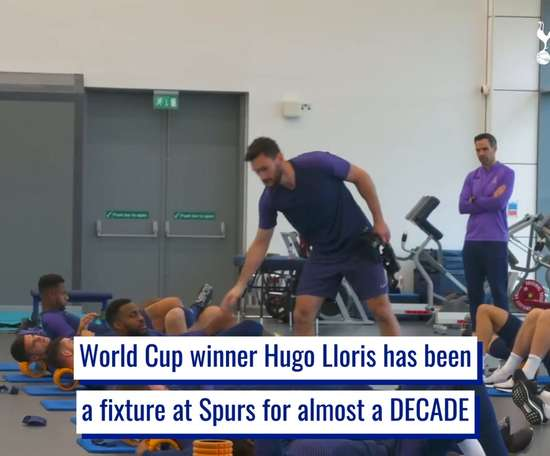 Hugo Lloris' consistency as Spurs number one. DUGOUT