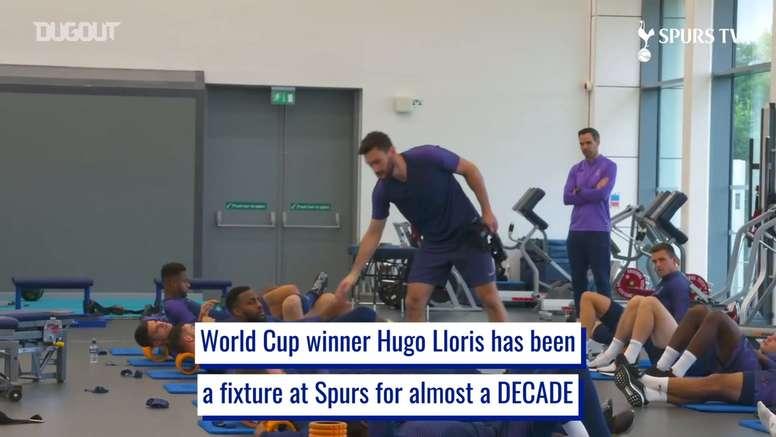 Hugo Lloris' consistency as Spurs number one. DUGOUT