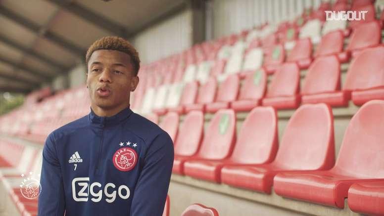 David Neres diz que pode liderar Ajax na Champions. DUGOUT