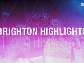 Momentos de quando José Izquierdo brilhou pelo Brighton. DUGOUT