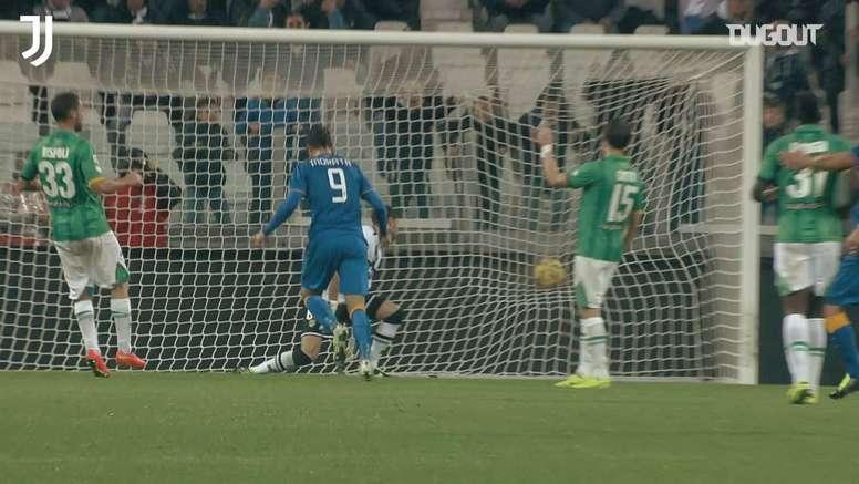 Les plus beaux buts d'Alvaro Morata à la Juventus. dugout