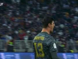 Les meilleurs arrêts de Courtois au Real Madrid. DUGOUT