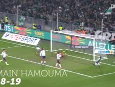 TOP 5 buts Saint-Etienne vs Lyon à Geoffroy Guichard. AFP
