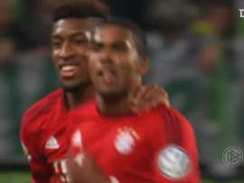 Douglas Costa scored some good goals for Bayern between 2015 and 2017. DUGOUT