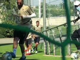 Real Madrid iniciou a terceira semana de treinos após a quarentena. DUGOUT