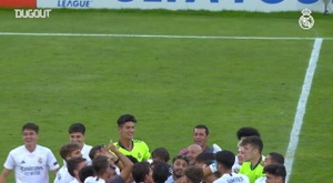 Real Madrid won the UEFA Youth League. DUGOUT