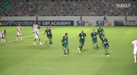 Vinícius fez o gol do Goiás na vitória sobre o Inter. DUGOUT
