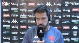 Ramon elogiou a atuação de Fellipe Bastos, que marcou os dois gols na vitória do Vasco. DUGOUT