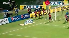 Em 2018, Yairo Moreno marcou golaço em 2018 sobre o América de Cali. DUGOUT