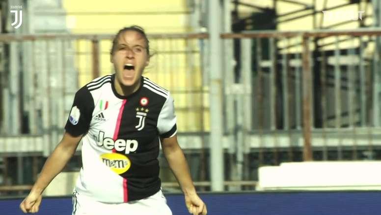 Juventus Women's goals. DUGOUT