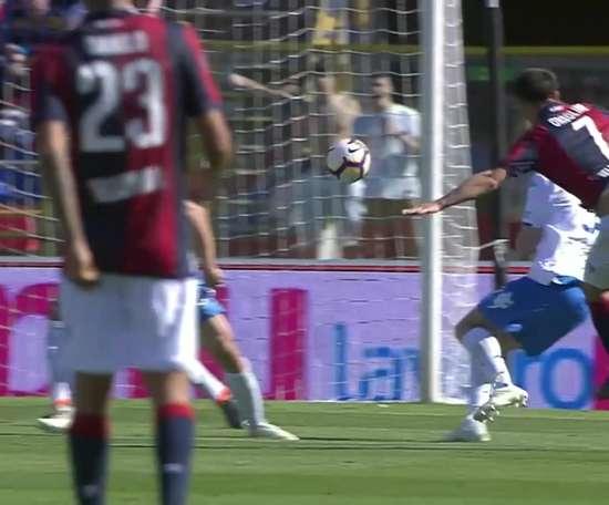 Il bellissimo goal di Orsolino. Dugout
