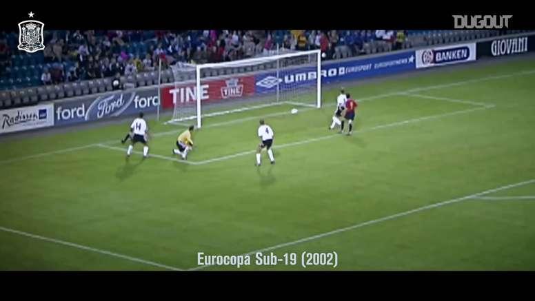 Gols de título de Fernando Torres pela seleção espanhola. DUGOUT
