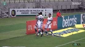 Veja o gol de Rodrigo Muniz pelo  Coritiba no Castelão. DUGOUT