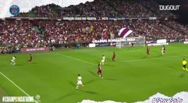 Le giocate più belle del PSG. Dugout