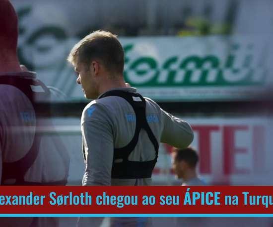 Alexander Sørloth, atacante norueguês de 24 anos, se consolidou no Trabzonspor. DUGOUT