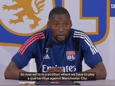 Toko Ekambi thinks Lyon will win. DUGOUT